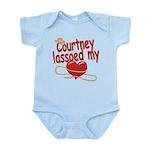 Courtney Lassoed My Heart Infant Bodysuit
