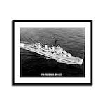 USS INGERSOLL Framed Panel Print