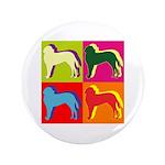 Saint Bernard Silhouette Pop Art 3.5