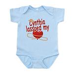 Cynthia Lassoed My Heart Infant Bodysuit