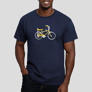 Retro Bike Men's Fitted T-Shirt (dark)