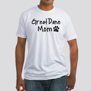 Great Dane MOM Fitted T-Shirt