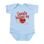 Danielle Lassoed My Heart Infant Bodysuit