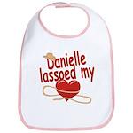Danielle Lassoed My Heart Bib