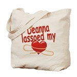 Deanna Lassoed My Heart Tote Bag