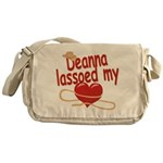 Deanna Lassoed My Heart Messenger Bag