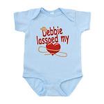 Debbie Lassoed My Heart Infant Bodysuit