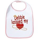 Debbie Lassoed My Heart Bib