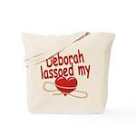 Deborah Lassoed My Heart Tote Bag
