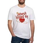 Deborah Lassoed My Heart Fitted T-Shirt