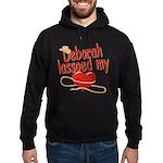 Deborah Lassoed My Heart Hoodie (dark)