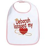 Deborah Lassoed My Heart Bib