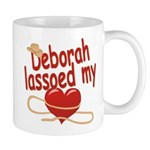 Deborah Lassoed My Heart Mug