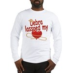 Debra Lassoed My Heart Long Sleeve T-Shirt
