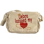 Debra Lassoed My Heart Messenger Bag