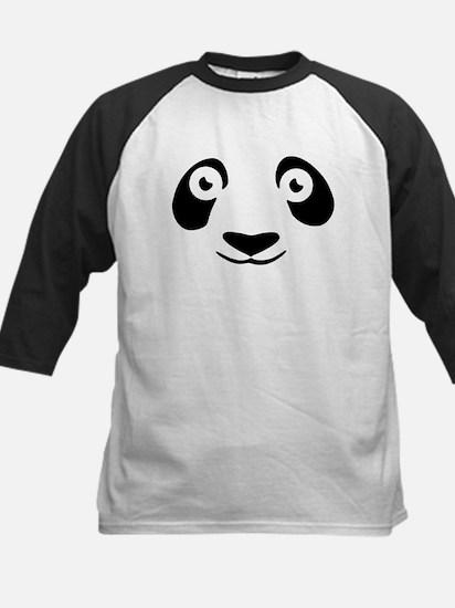 """""""Panda Face"""" Kids Baseball Jersey"""