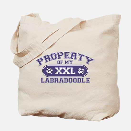 Labradoodle PROPERTY Tote Bag