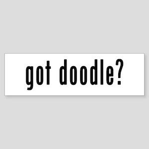 GOT DOODLE Sticker (Bumper)