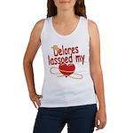 Delores Lassoed My Heart Women's Tank Top