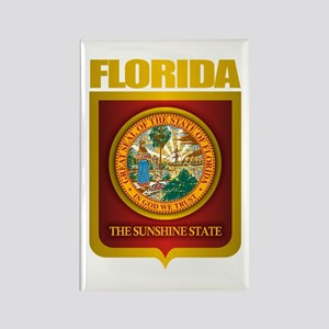 """Florida Gold"" Rectangle Magnet"