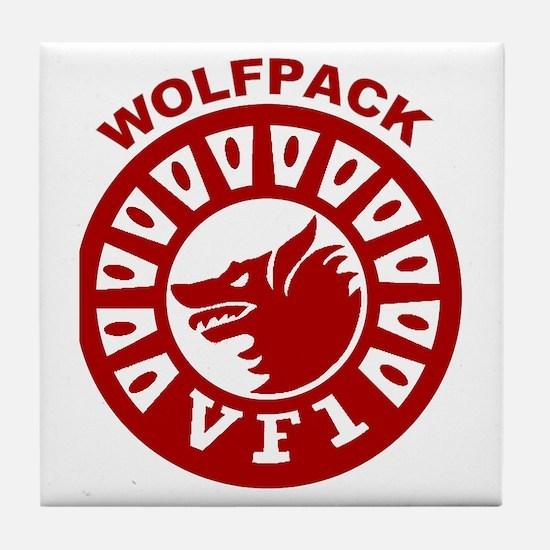 VF 1 Wolfpack Tile Coaster