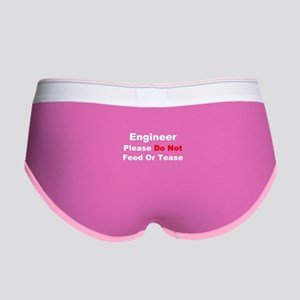 Engineer: Please Do Not Feed Women's Boy Brief