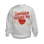 Dominique Lassoed My Heart Kids Sweatshirt