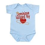 Dominique Lassoed My Heart Infant Bodysuit