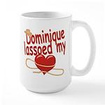 Dominique Lassoed My Heart Large Mug