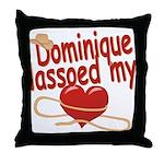 Dominique Lassoed My Heart Throw Pillow