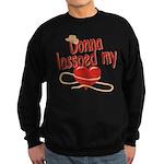 Donna Lassoed My Heart Sweatshirt (dark)
