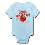 Donna Lassoed My Heart Infant Bodysuit