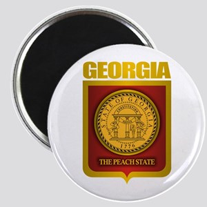"""Georgia Gold"" Magnet"