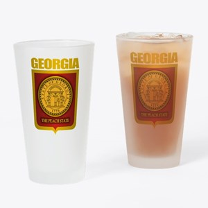 """Georgia Gold"" Drinking Glass"