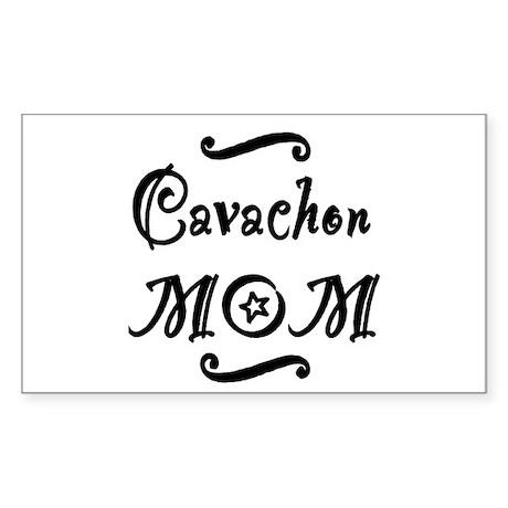 Cavachon MOM Sticker (Rectangle)