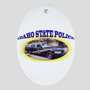 Idaho State Police Ornament (Oval)