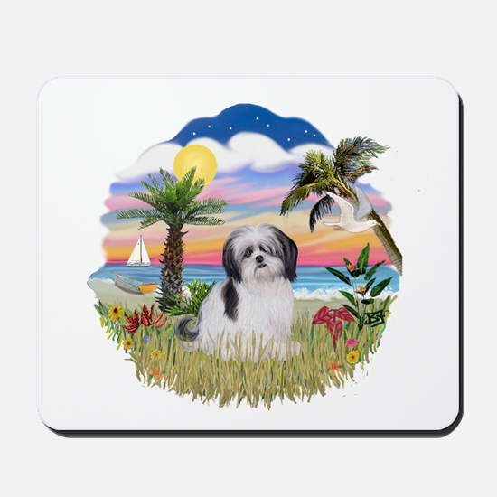 Palms-ShihTzu1 Mousepad