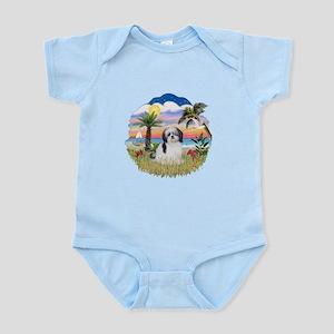 Palms-ShihTzu1 Infant Bodysuit