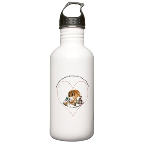 Humane Society Support Stainless Water Bottle 1.0L