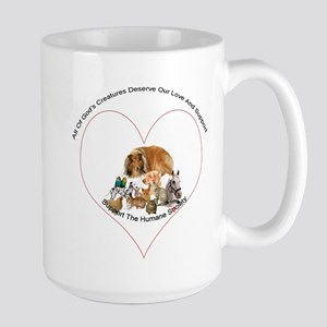 Humane Society Support Large Mug