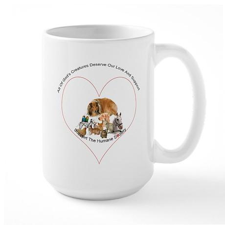 Humane Society Support Large Mug