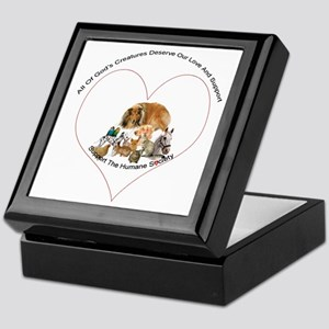 Humane Society Support Keepsake Box