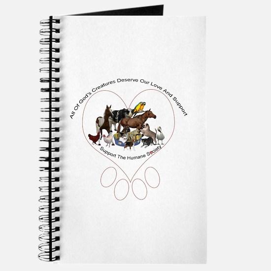 All Gods Creatures Journal