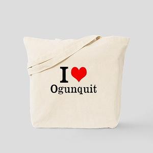 "I ""Heart"" Ogunquit Tote Bag"
