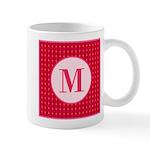 Fiery Formal Monogram Mug
