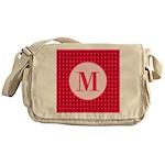 Fiery Formal Monogram Messenger Bag