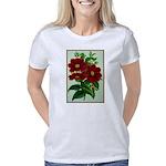 Vintage Flower Print Women's Classic T-Shirt