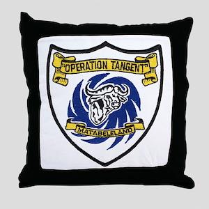 Rhodesia Operation Tangent Throw Pillow