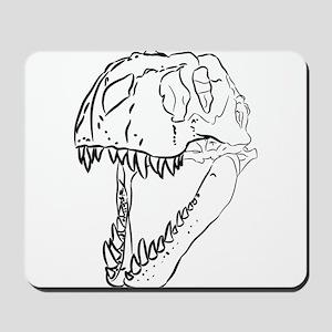 Tyrannosaurus Skull Mousepad