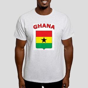 Ghana Ash Grey T-Shirt